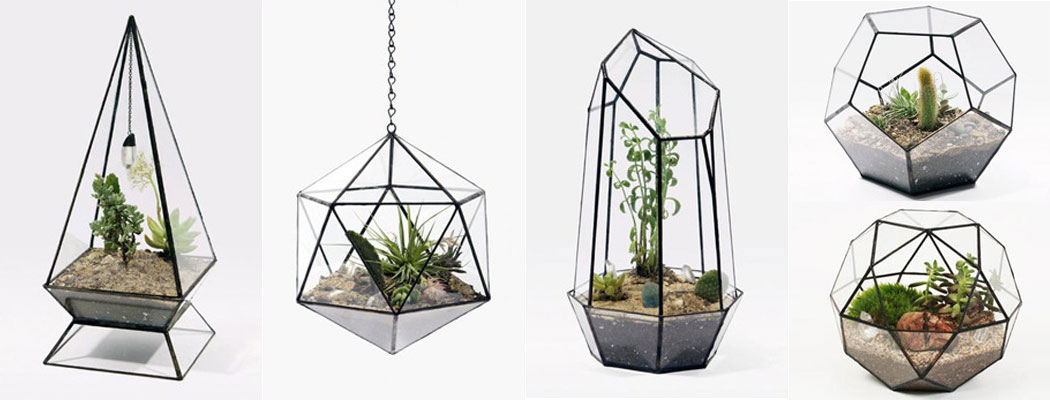 Geometric Terrariums Glass Terrarium Glass Planters China Faceted