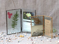 Soldered Glass Picture Frame