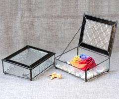 Geometrisches glasterrarium deko glaskasten glas for Geometrische deko